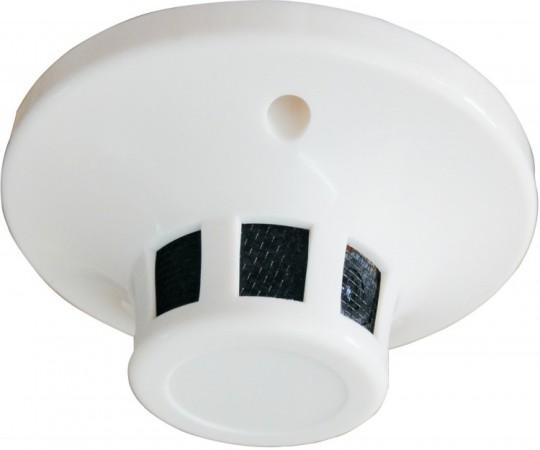 Sec-CAM SCAHD-SPY100F SMOKE, valódi 1.0MP HD 720p, AHD füstérzékelőbe rejtett biztonsági megfigyelő kamera
